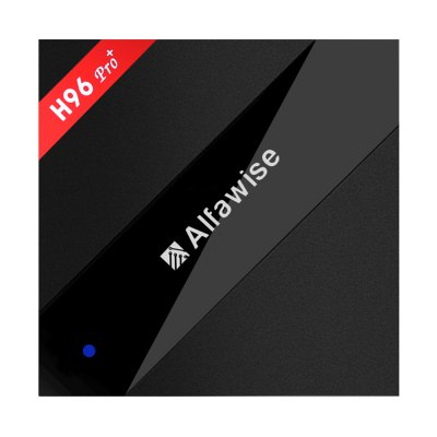 Alfawise H96 Pro+ TV BoxTV Box<br>Alfawise H96 Pro+ TV Box<br><br>5G WiFi: Yes<br>Audio format: MP3, WMA, OGG, WAV, AAC, AC3<br>Bluetooth: Support<br>Color: Black<br>Core: Octa Core, 2.0GHz<br>CPU: Amlogic S912<br>Decoder Format: H.264, H.263, H.265<br>External Subtitle Supported: No<br>GPU: ARM Mali-T820MP3<br>HDMI Version: 2.0<br>Interface: AV, DC Power Port, Ethernet, HDMI, SPDIF, TF card, USB2.0<br>Language: Multi-language<br>Maximum External Hard Drives Capacity: 2TB<br>Model: H96 Pro+<br>Other Functions: 3D Video<br>Package Contents: 1 x Alfawise H96 Pro+ TV Box, 1 x Remote Control, 1 x HDMI Cable, 1 x Power Adapter, 1 x English Manual<br>Package size (L x W x H): 16.00 x 15.80 x 8.00 cm / 6.3 x 6.22 x 3.15 inches<br>Package weight: 0.5400 kg<br>Power Input Vol: 5V<br>Power Supply: Charge Adapter<br>Power Type: External Power Adapter Mode<br>Product size (L x W x H): 10.70 x 10.70 x 2.00 cm / 4.21 x 4.21 x 0.79 inches<br>Product weight: 0.2500 kg<br>RAM: 3GB<br>RAM Type: DDR3<br>ROM: 32G<br>Support 5.1 Surround Sound Output: Yes<br>System: Android 7.1<br>System Bit: 64Bit<br>Type: TV Box<br>Video format: ASF, AVI, VOB, TS, RMVB, RM, MPG, MOV, MPEG, MKV, ISO, FLV, DAT, WMV<br>WIFI: 802.11 a/b/g/n/ac