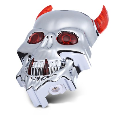 Skull-shaped Bicycle Tail Laser Light Bike Rear Safety LampBike Lights<br>Skull-shaped Bicycle Tail Laser Light Bike Rear Safety Lamp<br><br>Features: Superbright, Waterproof, Easy to Install<br>Package Contents: 1 x Bike Tail Laser Light, 1 x Bracket<br>Package Dimension: 16.00 x 7.50 x 4.00 cm / 6.3 x 2.95 x 1.57 inches<br>Package weight: 0.1300 kg<br>Placement: Saddle Tube<br>Product Dimension: 12.00 x 7.30 x 3.50 cm / 4.72 x 2.87 x 1.38 inches<br>Product weight: 0.0580 kg<br>Suitable for: Mountain Bicycle, Electric Bicycle, Fixed Gear Bicycle, Road Bike<br>Type: Tail Light