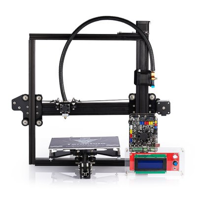 Tevo Tarantula 3D Printer Kit3D Printers, 3D Printer Kits<br>Tevo Tarantula 3D Printer Kit<br><br>Engraving Area: 200 x 200 x 200mm<br>File format: STL, G-code<br>Frame material: Aluminium Extrusion<br>Language: English<br>Layer thickness: 0.05-0.4mm<br>LCD Screen: Yes<br>Material diameter: 1.75mm<br>Memory card offline print: SD card<br>Model: Tarantula<br>Nozzle diameter: 0.4mm<br>Nozzle quantity: Single<br>Nozzle temperature: Room temperature to 260 degree<br>Package size: 36.00 x 48.00 x 24.00 cm / 14.17 x 18.9 x 9.45 inches<br>Package weight: 9.3000 kg<br>Packing Contents: 1 x Tevo Tarantula 3D Printer Kit<br>Packing Type: unassembled packing<br>Print speed: 150mm/s<br>Product size: 43.00 x 43.00 x 40.00 cm / 16.93 x 16.93 x 15.75 inches<br>Product weight: 7.5000 kg<br>Supporting material: Wood, PVC, ABS, Flexible PLA, PLA, Nylon, PETG<br>System support: Mac,  Linux, Windows<br>Type: DIY<br>XY-axis positioning accuracy: 0.012mm<br>Z-axis positioning accuracy: 0.004mm
