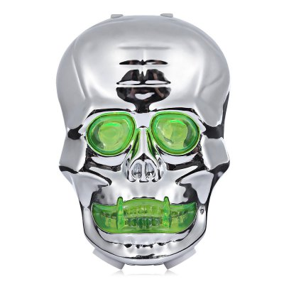 Skull-shaped Bike Tail Laser Light Bicycle Rear Safety LampBike Lights<br>Skull-shaped Bike Tail Laser Light Bicycle Rear Safety Lamp<br><br>Features: Superbright, Waterproof, Easy to Install<br>Package Contents: 1 x Bike Tail Laser Light, 1 x Bracket<br>Package Dimension: 12.50 x 7.50 x 4.00 cm / 4.92 x 2.95 x 1.57 inches<br>Package weight: 0.1030 kg<br>Placement: Saddle Tube<br>Product Dimension: 9.00 x 6.30 x 3.50 cm / 3.54 x 2.48 x 1.38 inches<br>Product weight: 0.0460 kg<br>Suitable for: Mountain Bicycle, Electric Bicycle, Fixed Gear Bicycle, Road Bike<br>Type: Tail Light