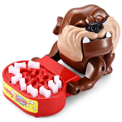 Tricky Bite Finger Large Mouth Bulldog Family Game ToyNovelty Toys<br>Tricky Bite Finger Large Mouth Bulldog Family Game Toy<br><br>Features: Creative Toy<br>Materials: ABS<br>Package Contents: 1 x Novelty Toy<br>Package size: 12.00 x 14.00 x 22.00 cm / 4.72 x 5.51 x 8.66 inches<br>Package weight: 0.2400 kg<br>Product size: 9.00 x 10.00 x 13.00 cm / 3.54 x 3.94 x 5.12 inches<br>Product weight: 0.2000 kg<br>Series: Lifestyle<br>Theme: Animals