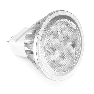 MR11 3W 240Lm 12V SMD3030 LED Spot BulbGlobe bulbs<br>MR11 3W 240Lm 12V SMD3030 LED Spot Bulb<br><br>Application: Bathroom, Dining Room<br>Is Dimmable: No<br>Material: Aluminum<br>Package Contents: 1 x LED Light<br>Package Size(L x W x H): 6.00 x 5.00 x 5.00 cm / 2.36 x 1.97 x 1.97 inches<br>Package weight: 0.0340 kg<br>Power Source: AC<br>Product Size(L x W x H): 3.80 x 3.80 x 4.00 cm / 1.5 x 1.5 x 1.57 inches<br>Product weight: 0.0180 kg<br>Wattage: 3W