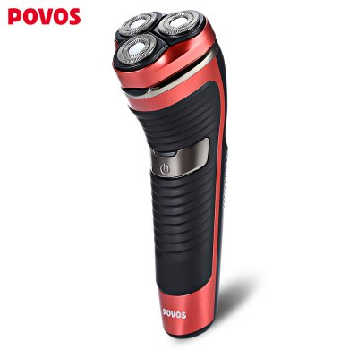 POVOS PW831 Floating Washable Shaver Electric Razor