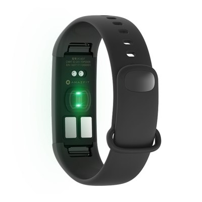 Xiaomi AMAZFIT Heart Rate SmartbandSmart Watches<br>Xiaomi AMAZFIT Heart Rate Smartband<br><br>Available Color: Black<br>Band material: TPU<br>Battery  Capacity: 95mAh li-polymer battery<br>Bluetooth Version: Bluetooth 4.0<br>Built-in chip type: ECG<br>Case material: Aluminium Alloy,PC,Stainless Steel<br>Compatible OS: IOS, Android<br>Health tracker: Heart rate monitor,Pedometer,Sleep monitor<br>IP rating: IP67<br>Operating mode: Touch Key<br>Other Function: Bluetooth, Waterproof<br>Package Contents: 1 x Smartband, 1 x USB Charger, 1 x Chinese User Manual<br>Package size (L x W x H): 14.00 x 9.50 x 3.70 cm / 5.51 x 3.74 x 1.46 inches<br>Package weight: 0.2180 kg<br>People: Female table,Male table<br>Product size (L x W x H): 23.00 x 1.00 x 1.20 cm / 9.06 x 0.39 x 0.47 inches<br>Product weight: 0.0100 kg<br>Screen: OLED<br>Shape of the dial: Rectangle<br>Waterproof: Yes