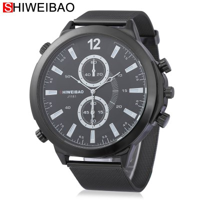 SHI WEI BAO J1181 Male Quartz Watch