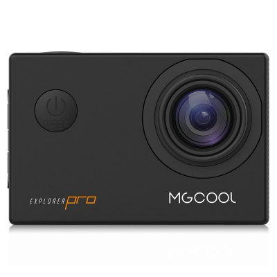 MGCOOL Explorer Pro 4K 30fps Sports CameraAction Cameras<br>MGCOOL Explorer Pro 4K 30fps Sports Camera<br><br>Aerial Photography: No<br>Anti-shake: No<br>Application: Underwater, Extreme Sports, Ski<br>Auto Focusing: No<br>Battery Capacity (mAh): 1050mAh<br>Battery Type: Removable<br>Brand Name: MGCOOL<br>Camera Timer: Yes<br>Charge way: USB charge by PC<br>Charging Time: 2.5h<br>Chipset: Allwinner V3<br>Chipset Name: Allwinner<br>Class Rating Requirements: Class 10 or Above<br>Features: Wireless<br>Function: WiFi, Time Lapse, Camera Timer, Waterproof<br>Image Format : JPEG<br>Language: English,French,German,Italian,Japanese,Korean,Polish,Portuguese,Russian,Simplified Chinese,Spanish,Traditional Chinese<br>Lens Diameter: 20mm<br>Max External Card Supported: TF 64G (not included)<br>Model: Explorer Pro<br>Night vision : No<br>Package Contents: 1 x MGCOOL Explorer Pro Action Camera with Waterproof Case, 1 x Camera Bracket, 1 x Clip, 1 x USB Data Cable ( 72cm ), 1 x Bicycle Stand, 2 x Helmet Base, 1 x Connector + Screw, 1 x English User Manua<br>Package size (L x W x H): 11.90 x 11.90 x 11.60 cm / 4.69 x 4.69 x 4.57 inches<br>Package weight: 0.4800 kg<br>Product size (L x W x H): 5.90 x 2.90 x 4.10 cm / 2.32 x 1.14 x 1.61 inches<br>Product weight: 0.0650 kg<br>Screen: With Screen<br>Screen resolution: 320x240<br>Screen size: 2.0inch<br>Screen type: TFT<br>Standby time: 2h<br>Time lapse: Yes<br>Type: Sports Camera<br>Type of Camera: 4K<br>Video format: MP4<br>Video Frame Rate: 120fps,30FPS,60FPS<br>Video Resolution: 1080P (1920 x 1080),2.7K ( 2688 x 1520 ),4K (3840 x 2160),720P (1280 x 720)<br>Water Resistant: 30m ( with waterproof case )<br>Waterproof: Yes<br>Waterproof Rating : IP68<br>Wide Angle: 170 degree wide angle<br>WIFI: Yes<br>WiFi Distance : 13m<br>Working Time: 100 minutes at 4K