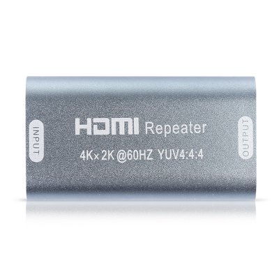 35M 4K x 2K HDMI Extender Repeater Amplifier BoosterCables &amp; Connectors<br>35M 4K x 2K HDMI Extender Repeater Amplifier Booster<br><br>Compatible with: Macbook, Notebook<br>Connector Type: HDMI<br>Interface: HDMI<br>Package Contents: 1 x HDMI Extender Repeater<br>Package size (L x W x H): 13.00 x 9.50 x 2.32 cm / 5.12 x 3.74 x 0.91 inches<br>Package weight: 0.0470 kg<br>Product size (L x W x H): 5.00 x 2.70 x 1.32 cm / 1.97 x 1.06 x 0.52 inches<br>Product weight: 0.0210 kg<br>Type: Adapter