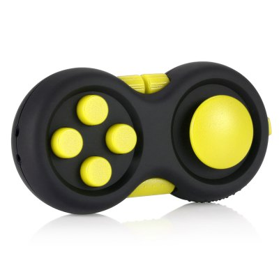 Magic Cube Style Fidget SpinnerFidget Cubes<br>Magic Cube Style Fidget Spinner<br><br>Color: Yellow<br>Frame material: ABS<br>Package Contents: 1 x Fidget Spinner, 1 x Sling<br>Package size (L x W x H): 12.00 x 6.50 x 4.10 cm / 4.72 x 2.56 x 1.61 inches<br>Package weight: 0.0560 kg<br>Product size (L x W x H): 7.30 x 3.60 x 2.60 cm / 2.87 x 1.42 x 1.02 inches<br>Product weight: 0.0400 kg<br>Swing Numbers: 2<br>Type: Dual Blade
