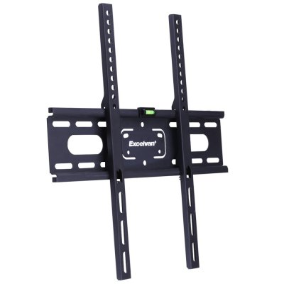 Excelvan YC - TV250 TV BracketTV Wall Mount<br>Excelvan YC - TV250 TV Bracket<br><br>Brand: EXCELVAN<br>Color: Black<br>Material: PVC<br>Model: YC - TV250<br>Package Contents: 1 x Excelvan YC - TV250 TV Bracket, 1 x Hardware Kit, 1 x English Manual<br>Package size (L x W x H): 46.50 x 13.00 x 3.30 cm / 18.31 x 5.12 x 1.3 inches<br>Package weight: 1.2700 kg<br>Product size (L x W x H): 44.00 x 11.50 x 2.30 cm / 17.32 x 4.53 x 0.91 inches<br>Product weight: 1.1400 kg