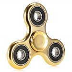 Electroplated Coating Tri-wing Fidget Spinner