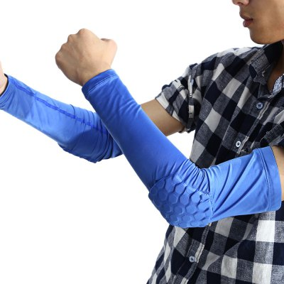 Paired Honeycomb Basketball Crashproof Elbow Sleeve Pad