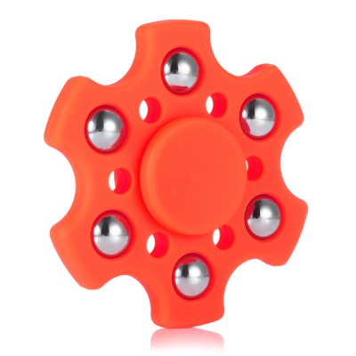 Hexagon ABS Fidget SpinnerFidget Spinners<br>Hexagon ABS Fidget Spinner<br><br>Center Bearing Material: Stainless Steel Bearing<br>Center Bearing Model: R188<br>Color: Red<br>Frame material: ABS<br>Package Contents: 1 x Fidget Spinner<br>Package size (L x W x H): 9.50 x 7.30 x 2.00 cm / 3.74 x 2.87 x 0.79 inches<br>Package weight: 0.0620 kg<br>Product size (L x W x H): 6.00 x 6.00 x 1.40 cm / 2.36 x 2.36 x 0.55 inches<br>Product weight: 0.0390 kg<br>Swing Numbers: 6<br>Type: Fire Wheel, Polygon, Steel Ball