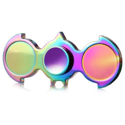 Two-wing Zinc Alloy ADHD EDC Fidget Spinner