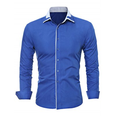 WSGYJ Plain Slim Fit Men\s ShirtsMens Shirts<br>WSGYJ Plain Slim Fit Men\s Shirts<br><br>Brand: WSGYJ<br>Color: Black,Blue,Gray<br>Material: Cotton<br>Package Contents: 1 x WSGYJ Shirt<br>Package size: 40.00 x 30.00 x 2.00 cm / 15.75 x 11.81 x 0.79 inches<br>Package weight: 0.3000 kg<br>Product weight: 0.2500 kg<br>Size: L,M,XL,XXL,XXXL