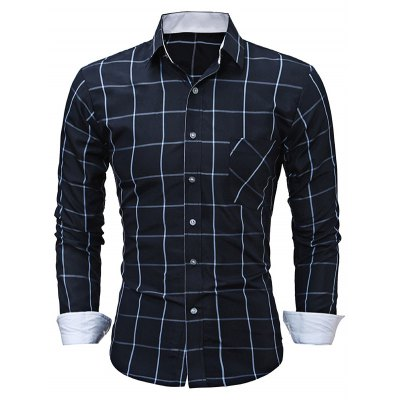 WSGYJ Slim Fit Men\s Plaid Shirts with Front PocketMens Shirts<br>WSGYJ Slim Fit Men\s Plaid Shirts with Front Pocket<br><br>Brand: WSGYJ<br>Color: Cadetblue,Wine red<br>Material: Cotton<br>Package Contents: 1 x WSGYJ Shirt<br>Package size: 40.00 x 30.00 x 2.00 cm / 15.75 x 11.81 x 0.79 inches<br>Package weight: 0.3000 kg<br>Product weight: 0.2500 kg<br>Size: L,M,XL,XXL,XXXL
