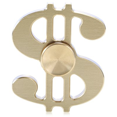 Rotating Dollar Style Copper Fidget Spinner Sensory Toy for Stress RelievingFidget Spinners<br>Rotating Dollar Style Copper Fidget Spinner Sensory Toy for Stress Relieving<br><br>Center Bearing Material: Stainless Steel Bearing<br>Color: Gold<br>Frame material: Copper<br>Package Contents: 1 x Fidget Spinner<br>Package size (L x W x H): 9.00 x 6.00 x 2.00 cm / 3.54 x 2.36 x 0.79 inches<br>Package weight: 0.1200 kg<br>Product size (L x W x H): 6.00 x 5.00 x 1.00 cm / 2.36 x 1.97 x 0.39 inches<br>Product weight: 0.0830 kg<br>Type: Cool