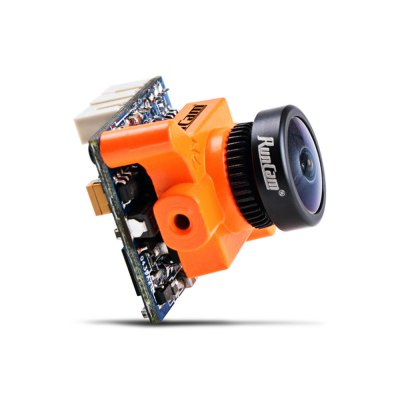 RunCam Micro Swift 600TVL Mini FPV CameraCamera<br>RunCam Micro Swift 600TVL Mini FPV Camera<br><br>Brand: RunCam<br>FPV Equipments: FPV Mini Camera<br>Functions: Video<br>Package Contents: 1 x Camera, 1 x 1.25mm 3-pin to 1.25mm 3-pin FPV Silicone Cable, 1 x 1.25mm 3-pin to 1.0mm 3-pin FPV Silicone Cable<br>Package size (L x W x H): 6.10 x 9.60 x 7.60 cm / 2.4 x 3.78 x 2.99 inches<br>Package weight: 0.1340 kg<br>Product size (L x W x H): 1.90 x 1.90 x 1.90 cm / 0.75 x 0.75 x 0.75 inches<br>Product weight: 0.0056 kg<br>Sensor: CCD