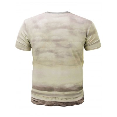 3D Mushroom-cloud Clown Short Sleeves T-shirtMens Short Sleeve Tees<br>3D Mushroom-cloud Clown Short Sleeves T-shirt<br><br>Fabric Type: Cotton, Polyester<br>Neckline: Round Neck<br>Package Content: 1 x T-shirt<br>Package size: 32.00 x 28.00 x 2.00 cm / 12.6 x 11.02 x 0.79 inches<br>Package weight: 0.3200 kg<br>Product weight: 0.2600 kg<br>Season: Summer, Spring, Autumn<br>Size: L,M,XL,XXL,XXXL<br>Sleeve Length: Short Sleeves<br>Style: Casual