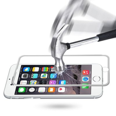 Hat Prince 3D Arc Screen FilmIPhone Screen Protectors<br>Hat Prince 3D Arc Screen Film<br><br>Brand: Hat-Prince<br>Features: Protect Screen, High-definition, High sensitivity, Anti-oil, Anti scratch, Anti fingerprint<br>For: Cell Phone<br>Mainly Compatible with: iPhone 6S, iPhone 6<br>Material: Tempered Glass<br>Package Contents: 1 x Screen Film, 1 x Cleaning Cloth, 1 x Dust Absorber, 1 x Wet Wipes<br>Package size (L x W x H): 19.00 x 9.80 x 1.60 cm / 7.48 x 3.86 x 0.63 inches<br>Package weight: 0.0680 kg<br>Product Size(L x W x H): 13.45 x 6.35 x 0.02 cm / 5.3 x 2.5 x 0.01 inches<br>Product weight: 0.0070 kg<br>Surface Hardness: 9H<br>Thickness: 0.2mm<br>Type: Screen Protector