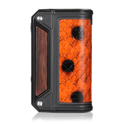 Original Lost Vape Therion DNA75 Box ModTemperature Control Mods<br>Original Lost Vape Therion DNA75 Box Mod<br><br>Accessories type: MOD<br>APV Mod Wattage: 75W<br>APV Mod Wattage Range: 51-100W<br>Battery Form Factor: 18650<br>Battery Quantity: 2pcs ( not included )<br>Brand: Lost Vape<br>Material: Zinc Alloy, Wood, Leather<br>Mod: Temperature Control Mod,VV/VW Mod<br>Model: Therion DNA75<br>Package Contents: 1 x Lost Vape Therion DNA75 Box Mod, 1 x USB Cable, 1 x English User Manual<br>Package size (L x W x H): 13.50 x 13.50 x 4.20 cm / 5.31 x 5.31 x 1.65 inches<br>Package weight: 0.3610 kg<br>Product size (L x W x H): 5.30 x 2.20 x 9.00 cm / 2.09 x 0.87 x 3.54 inches<br>Product weight: 0.1880 kg<br>Temperature Control Range: 200 - 600 Deg.F<br>Type: Electronic Cigarettes Accessories