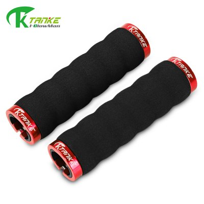 KTANKE Paired Foamed Lock-on Handlebar Grip Cover
