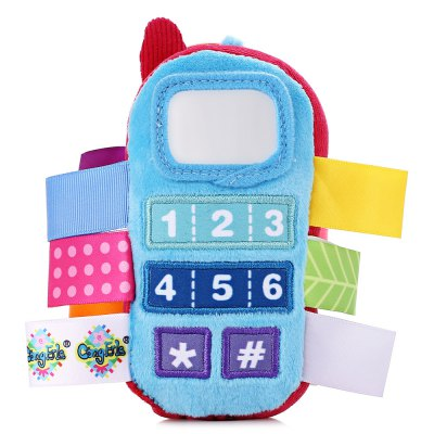 Baby Colorful Phone Style Hand Shake BellOther Educational Toys<br>Baby Colorful Phone Style Hand Shake Bell<br><br>Completeness: Finished Goods<br>Gender: Unisex<br>Materials: Plush<br>Package Contents: 1 x Toy<br>Package size: 8.00 x 6.00 x 14.50 cm / 3.15 x 2.36 x 5.71 inches<br>Package weight: 0.0550 kg<br>Product size: 8.00 x 5.00 x 14.00 cm / 3.15 x 1.97 x 5.51 inches<br>Product weight: 0.0380 kg<br>Stem From: China<br>Theme: Other