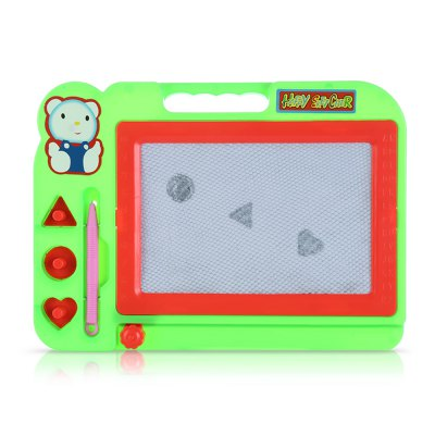 Kids magic draw sketch tablet board toy with pen...
