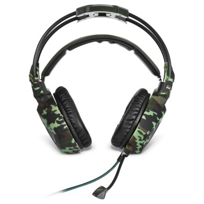 Sades SA - 931 Stereo Gaming HeadsetGaming Headphones<br>Sades SA - 931 Stereo Gaming Headset<br><br>Application: For iPod, Mobile phone, Computer<br>Brand: Sades<br>Cable Length (m): 2.2m<br>Compatible with: Computer<br>Connectivity: Wired<br>Driver unit: 40mm<br>Frequency response: 20~20KHz<br>Function: Microphone, Noise Cancelling, Answering Phone, Voice control, Sweatproof<br>Impedance: 32ohms<br>Language: No<br>Material: ABS, PU Leather<br>Model: SA - 931<br>Package Contents: 1 x Sades SA - 931 Stereo Gaming Headset, 1 x 3.5mm 1-to-2 Cable, 1 x Chinese and English Manual<br>Package size (L x W x H): 24.00 x 22.00 x 12.00 cm / 9.45 x 8.66 x 4.72 inches<br>Package weight: 0.4700 kg<br>Plug Type: 3.5mm<br>Product size (L x W x H): 23.00 x 20.50 x 10.00 cm / 9.06 x 8.07 x 3.94 inches<br>Product weight: 0.2770 kg<br>Sensitivity: 114dB ± 3dB<br>Wearing type: Headband