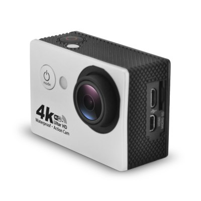 G81 4K 25fps WiFi Sports CameraAction Cameras<br>G81 4K 25fps WiFi Sports Camera<br><br>Aerial Photography: No<br>Anti-shake: Yes<br>Application: Motorcycle<br>Auto Focusing: No<br>Battery Capacity (mAh): 900mAh<br>Battery Type: Removable<br>Camera Timer: Yes<br>Charge way: USB charge by PC<br>Charging Time: 2h<br>Chipset: Sunplus 6330<br>Chipset Name: Sunplus<br>Features: Wireless<br>Function: Anti-Shake, WiFi, Waterproof, Camera Timer<br>Image Format : JPG<br>Language: Dutch,English,French,German,Italian,Japanese,Korean,Polish,Portuguese,Russian,Spanish,Thai,Traditional Chinese,Turkish<br>Lens Diameter: 17.5mm<br>Max External Card Supported: TF 32G (not included)<br>Model: G81<br>Night vision : No<br>Package Contents: 1 x 4K WiFi Sports Camera, 1 x Waterproof Case + Screw, 1 x USB Cable ( 68cm ), 1 x J-shaped Mount, 1 x Long Connector + Screw, 2 x Short Connector + Screw, 1 x Bike Handlebar Seatpost Pole Mount, 1 x<br>Package size (L x W x H): 27.40 x 17.00 x 7.00 cm / 10.79 x 6.69 x 2.76 inches<br>Package weight: 0.5070 kg<br>Product size (L x W x H): 6.00 x 4.10 x 2.80 cm / 2.36 x 1.61 x 1.1 inches<br>Product weight: 0.0600 kg<br>Screen: With Screen<br>Screen resolution: 320x240<br>Screen size: 2.0inch<br>Screen type: LCD<br>Standby time: 2h<br>Type: Sports Camera<br>Type of Camera: 4K<br>Video format: MOV<br>Video Frame Rate: 25fps,30FPS,60FPS<br>Video Resolution: 1080P(30fps),2.7K (30fps),4K (25fps),720P (60fps)<br>Water Resistant: 30m ( with waterproof case )<br>Waterproof: Yes<br>Wide Angle: 170 degree wide angle<br>WIFI: Yes<br>WiFi Distance : 10 - 20m<br>Working Time: 60 - 90 minutes