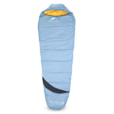 NatureHike GES350 Mummy Cotton Camping Sleeping BagHammock and Sleeping Bags<br>NatureHike GES350 Mummy Cotton Camping Sleeping Bag<br><br>Best Use: Camping,Travel<br>Brand: NatureHike<br>Features: Comfortable, Keep Warm, Water Resistant<br>Model Number: GES350<br>Package Contents: 1 x Sleeping Bag, 1 x Carrying Bag<br>Package Dimension: 24.00 x 24.00 x 36.00 cm / 9.45 x 9.45 x 14.17 inches<br>Package weight: 1.7800 kg<br>Product Dimension: 23.00 x 23.00 x 35.00 cm / 9.06 x 9.06 x 13.78 inches<br>Product weight: 1.7500 kg<br>Suitable for: 1 Person<br>Type: Portable