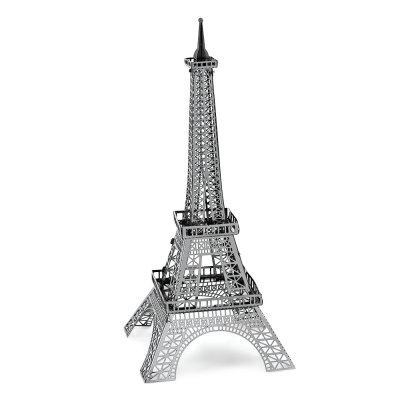 ZOYO Miniature Tower Model Shape PuzzleModel &amp; Building Toys<br>ZOYO Miniature Tower Model Shape Puzzle<br><br>Brand: ZOYO<br>Gender: Unisex<br>Materials: Metal<br>Package Contents: 1 x 3D Metallic Puzzle Sheet, 1 x Assembling Instruction<br>Package size: 18.00 x 12.00 x 2.00 cm / 7.09 x 4.72 x 0.79 inches<br>Package weight: 0.0600 kg<br>Product size: 11.50 x 4.00 x 4.00 cm / 4.53 x 1.57 x 1.57 inches<br>Product weight: 0.0400 kg<br>Stem From: Europe and America<br>Theme: Movie and TV