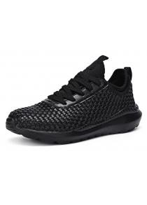 Breathable Woven Upper Men Hiking Shoes