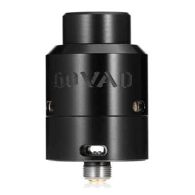 Original Vandy Vape GOVAD RDARebuildable Atomizers<br>Original Vandy Vape GOVAD RDA<br><br>Brand: Vandy Vape<br>Material: Stainless Steel<br>Model: GOVAD<br>Overall Diameter: 24mm<br>Package Contents: 1 x GOVAD RDA  2 x Drip Tip, 5 x Insulated Ring, 1 x Screwdriver, 1 x 510 Adapter, 3 x Screw, 1 x O-ring, 1 x Enlgish User Manual<br>Package size (L x W x H): 6.60 x 6.70 x 3.70 cm / 2.6 x 2.64 x 1.46 inches<br>Package weight: 0.1020 kg<br>Product size (L x W x H): 3.90 x 2.40 x 2.40 cm / 1.54 x 0.94 x 0.94 inches<br>Product weight: 0.0480 kg<br>Rebuildable Atomizer: RBA<br>Thread: 510<br>Type: Rebuildable Drippers, Rebuildable Atomizer