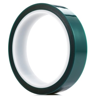 20mm x 33m PET Adhesive Tape for PCB SolderingOther Tools<br>20mm x 33m PET Adhesive Tape for PCB Soldering<br><br>Package Contents: 1 x Green PET Tape<br>Package size (L x W x H): 12.00 x 12.00 x 3.50 cm / 4.72 x 4.72 x 1.38 inches<br>Package weight: 0.0800 kg<br>Product weight: 0.0670 kg<br>Special Functions : PET Adhesive Tape for PCB Soldering