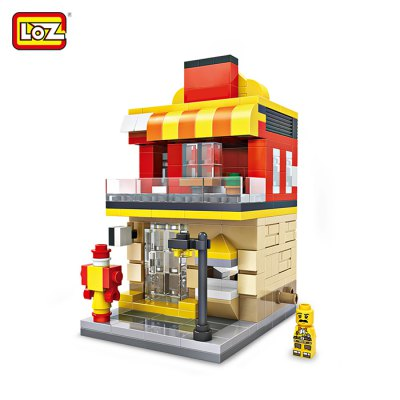 LOZ ABS Restaurant Style Building Block - 333pcs / set