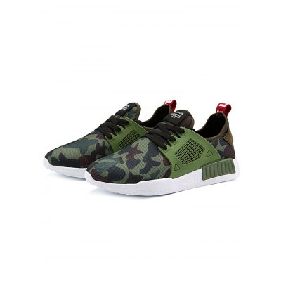 Breathable Camo Men Hiking Shoes