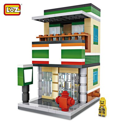 LOZ ABS Cartoon House Style Building Block - 286pcs / set