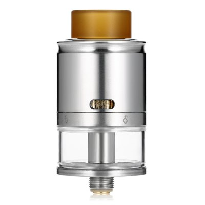 Original Vandy Vape RDTARebuildable Atomizers<br>Original Vandy Vape RDTA<br><br>Brand: Vandy Vape<br>Coil Quantity: Dual coil,Single coil<br>Material: Glass, Stainless Steel<br>Overall Diameter: 24mm<br>Package Contents: 1 x RDTA, 1 x Glass Tank, 2 x Drip Tip, 9 x Insulated Ring, 1 x O-ring, 4 x Screw, 1 x 510 Adapter, 1 x Screwdriver, 1 x English User Manual<br>Package size (L x W x H): 10.40 x 7.70 x 4.00 cm / 4.09 x 3.03 x 1.57 inches<br>Package weight: 0.1220 kg<br>Product size (L x W x H): 4.80 x 2.40 x 2.40 cm / 1.89 x 0.94 x 0.94 inches<br>Product weight: 0.0440 kg<br>Rebuildable Atomizer: RBA,RDA,RTA<br>Tank Capacity: 4.0ml<br>Thread: 510<br>Type: Rebuildable Atomizer, Rebuildable Tanks, Rebuildable Drippers