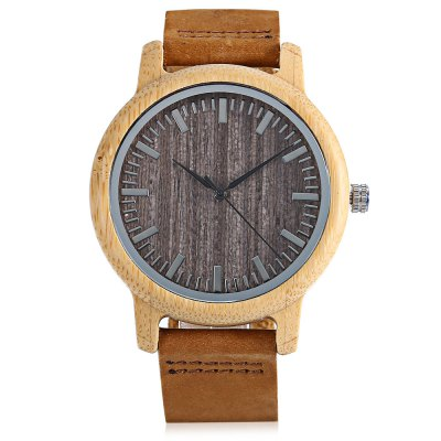 BOBO BIRD A18 Bamboo Men Quartz WatchMens Watches<br>BOBO BIRD A18 Bamboo Men Quartz Watch<br><br>Band material: Genuine Leather<br>Band size: 23.5 x 2cm<br>Brand: BOBO BIRD<br>Case material: Bamboo<br>Clasp type: Pin buckle<br>Dial size: 4.2 x 4.2 x 1.1cm<br>Display type: Analog<br>Movement type: Quartz watch<br>Package Contents: 1 x A18 Watch, 1 x Box<br>Package size (L x W x H): 8.70 x 8.20 x 5.40 cm / 3.43 x 3.23 x 2.13 inches<br>Package weight: 0.0760 kg<br>Product size (L x W x H): 23.50 x 4.20 x 1.10 cm / 9.25 x 1.65 x 0.43 inches<br>Product weight: 0.0260 kg<br>Shape of the dial: Round<br>Watch style: Casual, Retro, Fashion<br>Watches categories: Men<br>Wearable length: 15.5 - 21.5cm
