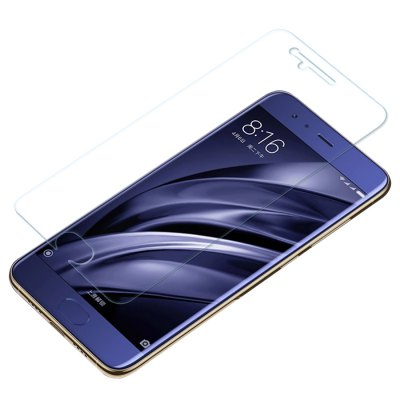 Luanke 2.5D Screen Protective FilmScreen Protectors<br>Luanke 2.5D Screen Protective Film<br><br>Brand: Luanke<br>Compatible Model: Mi 6<br>Features: Ultra thin, High-definition, High Transparency, High sensitivity, Anti-oil, Anti scratch, Anti fingerprint<br>Mainly Compatible with: Xiaomi<br>Material: Tempered Glass<br>Package Contents: 1 x Screen Film, 1 x Dust Remover, 1 x Wet Wipes, 1 x Dry Wipes<br>Package size (L x W x H): 20.00 x 13.00 x 2.00 cm / 7.87 x 5.12 x 0.79 inches<br>Package weight: 0.1120 kg<br>Product weight: 0.0080 kg<br>Surface Hardness: 9H<br>Thickness: 0.26mm<br>Type: Screen Protector