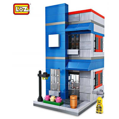 LOZ ABS Restaurant Style Building Block - 307pcs / set