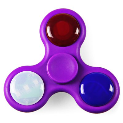 LED Fidget Spinner EDC ADHD Item Toy with Music