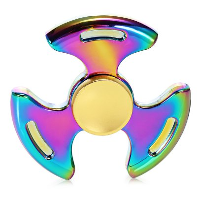 A1 Colorful Three-blade Zinc Alloy Fidget Tri-spinnerFidget Spinners<br>A1 Colorful Three-blade Zinc Alloy Fidget Tri-spinner<br><br>Color: Multi-color<br>Frame material: Zinc Alloy<br>Package Contents: 1 x Fidget Spinner<br>Package size (L x W x H): 8.30 x 8.30 x 2.00 cm / 3.27 x 3.27 x 0.79 inches<br>Package weight: 0.1230 kg<br>Product size (L x W x H): 6.00 x 6.00 x 1.30 cm / 2.36 x 2.36 x 0.51 inches<br>Product weight: 0.0840 kg<br>Swing Numbers: 3<br>Type: Cool