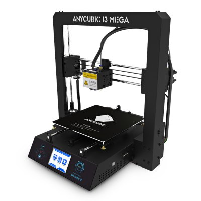 Anycubic I3 MEGA Full Metal Frame FDM 3D Printer3D Printers, 3D Printer Kits<br>Anycubic I3 MEGA Full Metal Frame FDM 3D Printer<br><br>Brand: Anycubic<br>Engraving Area: 210 x 210 x 205mm<br>File format: DAE, G-code, OBJ, STL, AMF<br>Host computer software: Cura<br>Layer thickness: 0.05-0.3mm<br>LCD Screen: Yes<br>Material diameter: 1.75mm<br>Memory card offline print: SD card<br>Model: I3 MEGA<br>Nozzle diameter: 0.4mm<br>Nozzle quantity: Single<br>Nozzle temperature: 170-275 Degree<br>Package size: 56.00 x 52.00 x 27.00 cm / 22.05 x 20.47 x 10.63 inches<br>Package weight: 13.1500 kg<br>Packing Contents: 1 x Anycbic I3 MEGA 3D Printer Kit, 1 x 8G SD Card, 1 x 10m Test Filament ( Random Color )<br>Packing Type: unassembled packing<br>Platform temperature: Room temperature to 100 degree<br>Print speed: 20 - 100mm/s<br>Product size: 41.00 x 40.50 x 45.30 cm / 16.14 x 15.94 x 17.83 inches<br>Product weight: 10.5000 kg<br>Supporting material: ABS, PLA, HIPS, Wood<br>Type: DIY<br>Voltage: 110V/220V<br>XY-axis positioning accuracy: 0.01mm