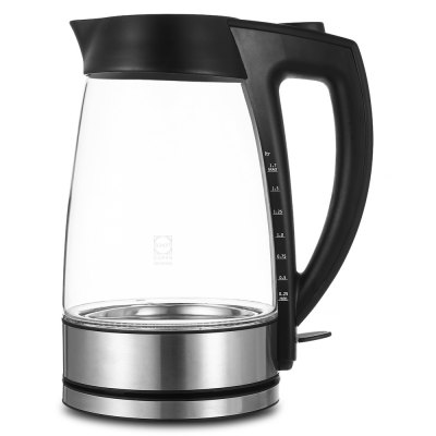 Sweet Alice 1.7-liter Glass Electric KettleElectric Kettle<br>Sweet Alice 1.7-liter Glass Electric Kettle<br><br>Frequency: 50Hz<br>Input Voltage: 220 - 240V<br>Package Contents: 1 x Sweet Alice Kettle, 1 x Base<br>Package size (L x W x H): 22.00 x 21.80 x 33.50 cm / 8.66 x 8.58 x 13.19 inches<br>Package weight: 1.6750 kg<br>Power (W): 2300<br>Product size (L x W x H): 20.00 x 24.70 x 15.00 cm / 7.87 x 9.72 x 5.91 inches<br>Product weight: 1.2330 kg<br>Type: Upright
