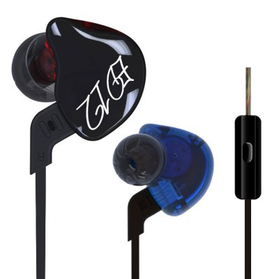 KZ ED12 HiFi Music In Ear Earphones with MicSports &amp; Fitness Headphones<br>KZ ED12 HiFi Music In Ear Earphones with Mic<br><br>Application: Portable Media Player, Sport, Mobile phone, Computer<br>Brand: KZ<br>Cable Length (m): 1.2m<br>Compatible with: Computer<br>Connectivity: Wired<br>Driver type: Dynamic<br>Driver unit: 10mm<br>Frequency response: 10-20000Hz<br>Function: Answering Phone, Song Switching, Noise Cancelling, Microphone, HiFi<br>Impedance: 16ohms<br>Model: ED12<br>Package Contents: 1 x ED12 Earbud, 1 x Detachable Cable, 2 x Pair of Ear Plugs, 1 x English User Manual<br>Package size (L x W x H): 10.00 x 7.00 x 3.00 cm / 3.94 x 2.76 x 1.18 inches<br>Package weight: 0.0900 kg<br>Plug Type: 3.5mm<br>Product weight: 0.0300 kg<br>Sensitivity: 120dB<br>Type: In-Ear<br>Wearing type: In-Ear
