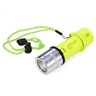 UltraFire Diving LED FlashlightLED Flashlights<br>UltraFire Diving LED Flashlight<br><br>Battery Included or Not: No<br>Battery Quantity: 1 x 18650 or 3 x AAA battery ( not included )<br>Battery Type: AAA, 18650<br>Beam Distance: 150-200m<br>Body Material: Aluminium Alloy<br>Brand: Ultrafire<br>Emitters: XM-L T6<br>Emitters Quantity: 1<br>Feature: Adjustable brightness, Waterproof, Diving<br>Flashlight size: EDC<br>Flashlight Type: Hand Crank<br>Function: Diving, Camping, EDC<br>Light color: Warm white light<br>Light Modes: High,Low,Mid,Strobe<br>Lumens Range: 500-1000Lumens<br>Luminous Flux: 680Lm<br>Package Contents: 1 x UltraFire LED Flashlight<br>Package size (L x W x H): 7.00 x 7.00 x 20.00 cm / 2.76 x 2.76 x 7.87 inches<br>Package weight: 0.1750 kg<br>Product size (L x W x H): 3.50 x 3.50 x 12.00 cm / 1.38 x 1.38 x 4.72 inches<br>Product weight: 0.0920 kg<br>Switch Location: Side Switch<br>Waterproof Standard: IPX-8 Standard Waterproof