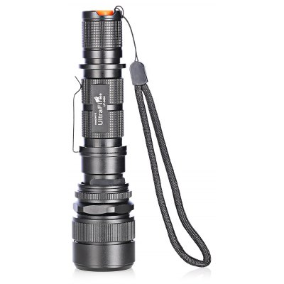 UltraFire UF - 6880 LED USB Rechargeable Flashlight with Clip