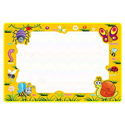 Insect Theme Water Drawing Mat Doodle Board