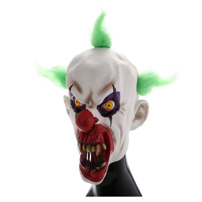 Clown Figure Head MaskClassic Toys<br>Clown Figure Head Mask<br><br>Appliable Crowd: Unisex<br>Materials: Latex<br>Nature: Other<br>Package Contents: 1 x Mask<br>Package size: 18.00 x 11.00 x 25.00 cm / 7.09 x 4.33 x 9.84 inches<br>Package weight: 0.2000 kg<br>Product size: 30.00 x 26.00 x 35.00 cm / 11.81 x 10.24 x 13.78 inches